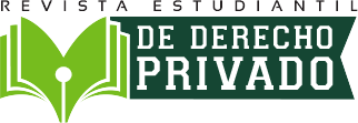 Revista Estudiantil de Derecho Privado